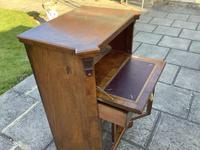 Victorian Walnut Sheet Music/ Bureau Cabinet (4 of 5)