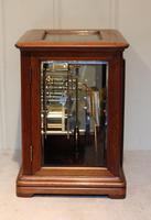 Mahogany Four Glass Ting Tang Mantel Clock (4 of 9)