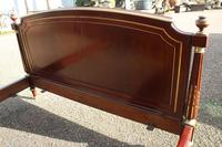 French Mahogany Bedstead (3 of 9)