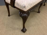 Mahogany Chippendale Style Triple Chair Back Settee (5 of 18)