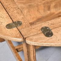Antique Mahogany Oval Coffee Table (3 of 9)