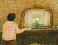 Figure in an Interior by James Carlisle (3 of 6)