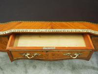 Large French Walnut Bureau Plat / Writing Table (14 of 16)