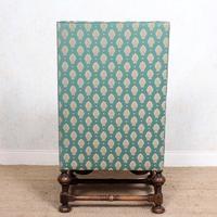 Lounge Chair Armchair Walnut Wingback Edwardian (3 of 12)