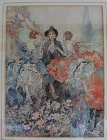 Vintage Original Watercolour - poss. Book Illustration - Yvonne Hind (4 of 8)