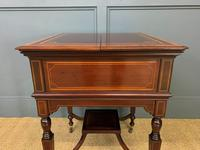 """Inlaid Mahogany """"Surprise"""" Drinks Table (7 of 15)"""