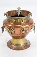 Pair of Chinese Brass & Copper Planters / Jardinières (4 of 13)