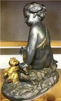 1900's Spelter Cherub Figure (3 of 6)