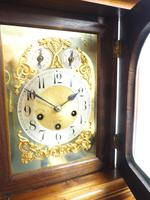 Westminster Chime Bracket Clock Art Nouveau 8-Day Musical Mantel Clock on Bracket c.1900 (6 of 9)