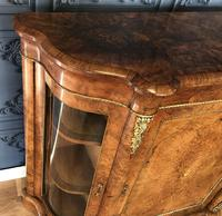 Victorian Burr Walnut Inlaid Credenza With Ormolu Mounts (9 of 27)