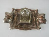 Silver Plated Ink Stand c.1920