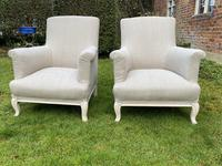Pair of Large French Armchairs (4 of 7)
