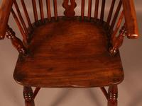 Yew Wood High Windsor Chair Benjamin Gilling (8 of 10)