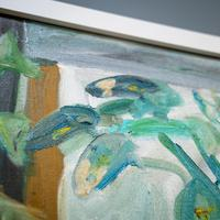 Large Still Life with Lillies – Oil on Canvas (7 of 8)