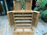 Fabulous & Large Old Pine Chest of Drawers (7 of 8)