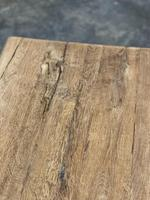 Great Rustic French Bleached Oak Coffee Table (20 of 25)