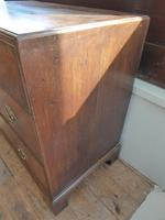 Neat English 18th Century Oak Chest of Drawers (4 of 11)
