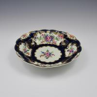 First Period Worcester Porcelain Blue Scale Junket Dish  c.1770 (7 of 7)