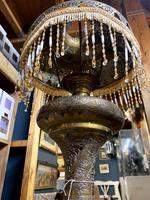 19th Century Islamic Brass Lamp (6 of 7)