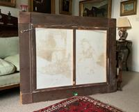 Huge Stunning 20thc Oil Portrait Painting Of 2 Children Playing In A Barn (10 of 12)
