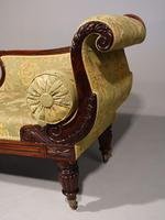 Attractive Mid 19th Century Rosewood Chaise Lounge by Gillows of Lancaster (6 of 9)