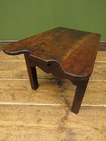 Unusual Antique Victorian Stool, Cobblers Stool, Milking Stool, Farriers Stool (11 of 12)