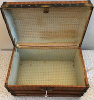 Dome Top Miniature Travelling Trunk (3 of 7)