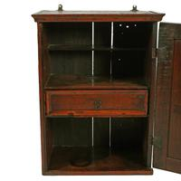 18th Century Oak Spice Cabinet (4 of 6)