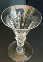 Superb Quality William IV Wine Glass c.1830 (2 of 4)