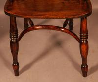 A Set of 4 Yew Tree Windsor Chairs Rockley Workshop (11 of 21)