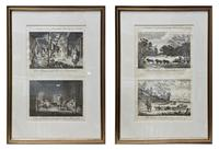 Pair of Early 19th Century Original Etchings (4 of 12)