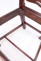 Georgian Mahogany Ladderback / Desk Chair (11 of 13)