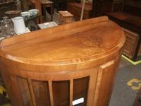 Glazed Walnut Display Cabinet (2 of 2)