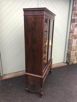 Antique Glazed Oak Barley Twist Bookcase (11 of 11)