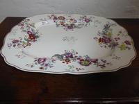 Large Chamberlain Worcester Platter (5 of 6)