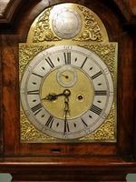 Queen Anne Period Walnut Longcase Clock (4 of 11)