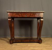 French Louis Philippe Period Mahogany Console Table (12 of 12)