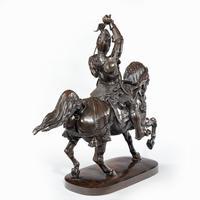 Italian Bronze Equestrian Sculpture of Emanuele Filiberto, Duke of Savoia, by Baron Carlo Marochetti (4 of 17)
