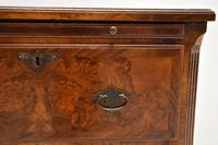 Antique Burr Walnut Bachelors Chest of Drawers (8 of 9)