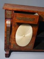 Very Fine Quality Slender Regency Brass Inlaid Side Cabinet (3 of 5)
