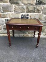 Antique Walnut Writing Library Table (8 of 8)