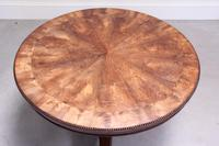 19th Century Rosewood Tilt-top Coffee Table (2 of 9)