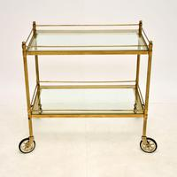 Vintage French Brass Drinks Trolley (2 of 10)
