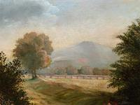 19thc British School - Travellers at Rest - Stunning Landscape Oil Painting (6 of 12)