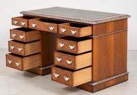 Superb Victorian Walnut 2 Pedestal Desk (7 of 10)