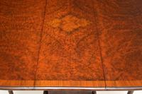 Antique Burr Walnut Drop Leaf Dining Table (3 of 11)