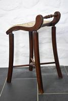 Victorian Mahogany Cello Stool (3 of 10)