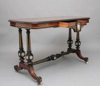 19th Century Amboyna & Ebonised Sofa Table (2 of 11)