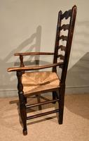 North Country Ladder Back Ash Armchair (3 of 5)