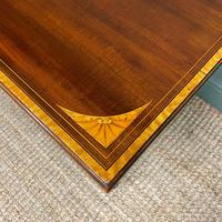 Stunning Victorian Inlaid Antique Mahogany Occasional Table (7 of 7)